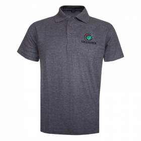 AGRI is our CULTURE Charcoal Polo Shirt