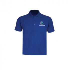 GRASSMEN Royal Blue Polo Shirt