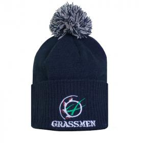 GRASSMEN Bobble Hat Navy