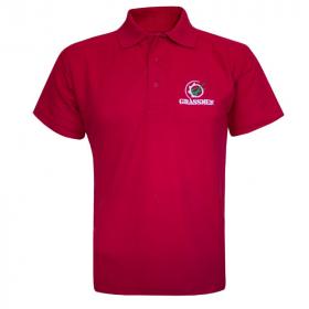 GRASSMEN Red Polo Shirt