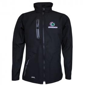 GRASSMEN Softshell Jacket Black