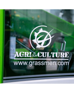 AGRI is our CULTURE Window Graphic Small