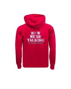 Now We're Talking Red Hoodie