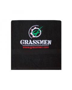 GRASSMEN Black Bath Sheet