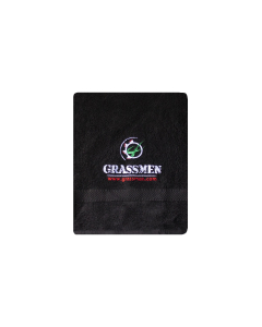 GRASSMEN Black Hand Towel