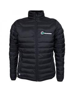 GRASSMEN Mens Puffer Jacket Black
