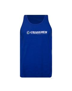 GRASSMEN Tank Top Vest - Royal Blue