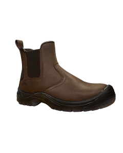 Expert Safety Boots Brown