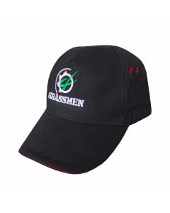 GRASSMEN Baseball Cap Black