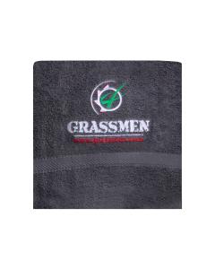 GRASSMEN Bath Sheet Charcoal Grey