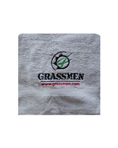 GRASSMEN Bath Sheet Grey