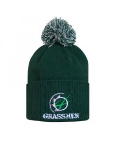 GRASSMEN Bobble Hat Bottle Green