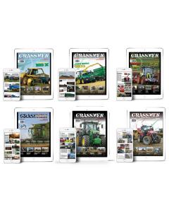 GRASSMEN Magazine Package Issues 1 - 6 Digital Copy