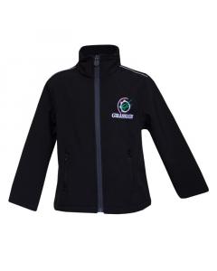GRASSMEN Black Softshell Jacket