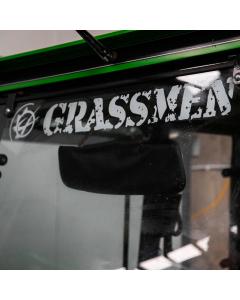 GRASSMEN Window Graphic Large