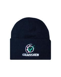 GRASSMEN Beanie Hat Navy