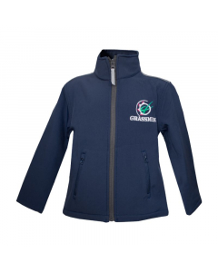 GRASSMEN Navy Softshell Jacket