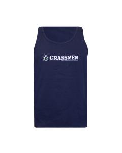 GRASSMEN Tank Top Vest - Navy