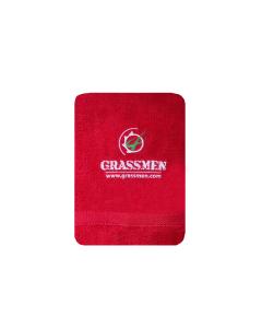GRASSMEN Hand Towel Red