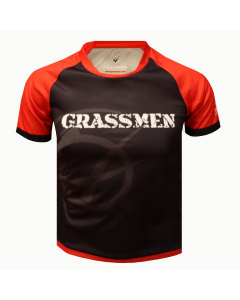 2021 Black & Red Rugby Jersey