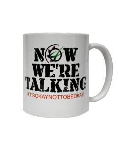"""GRASSMEN """"Now We're Talking"""" Mug"""