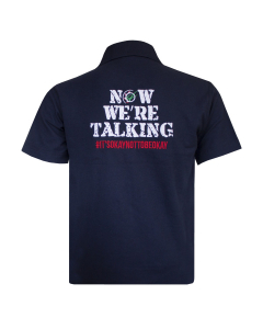 Now We're Talking Polo Shirt Navy