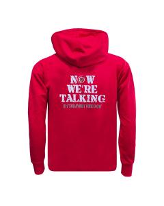 Now We're Talking Hoodie (RED)