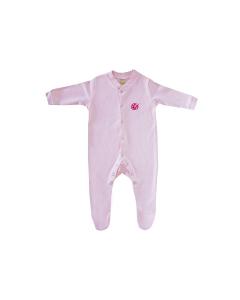 GRASSMEN Baby Grow Pink