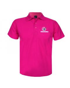 GRASSMEN Pink Polo Shirt