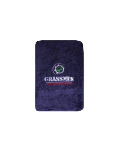 GRASSMEN Purple Hand Towel