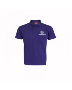 GRASSMEN Purple Polo Shirt