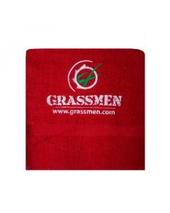 GRASSMEN Bath Sheet Red