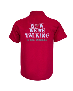 Now We're Talking Polo Shirt Red