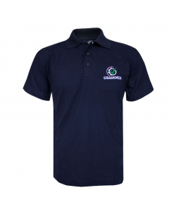 ALWAYS PROTECT YOUR SHAFT Navy Polo Shirt