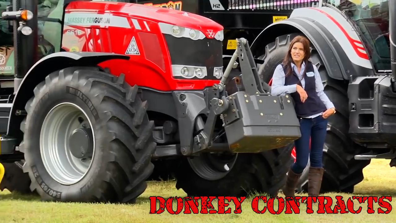 Donkey Contracts feat. Kirstie (Our First GRASSWOMAN!)