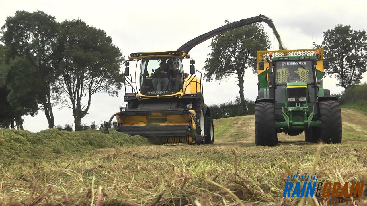 GRASSMEN TV- 'Rain & Grain' Machinery Lineup- Part 4 The Harvesters!