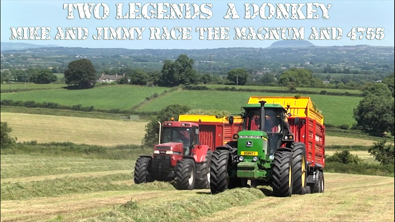 TWO LEGENDS & A DONKEY - Mike and Jimmy race the Magnum and 4755!