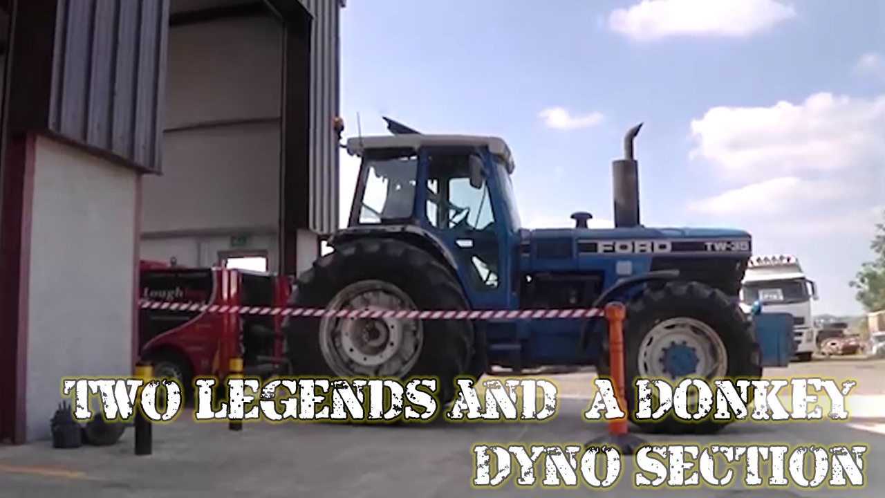 TWO LEGENDS & A DONKEY - Dyno Section