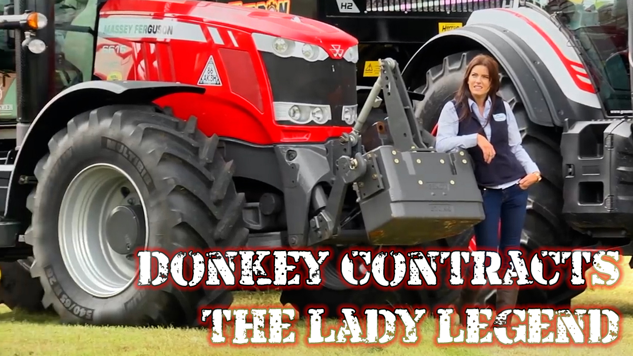 DONKEY CONTRACTS - 'The Lady Legend'
