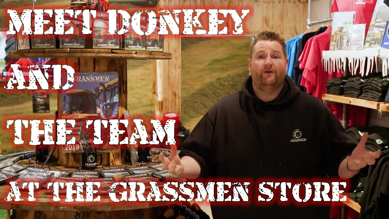 VLOG - Meet Donkey & the Team at the Grassmen Shop!
