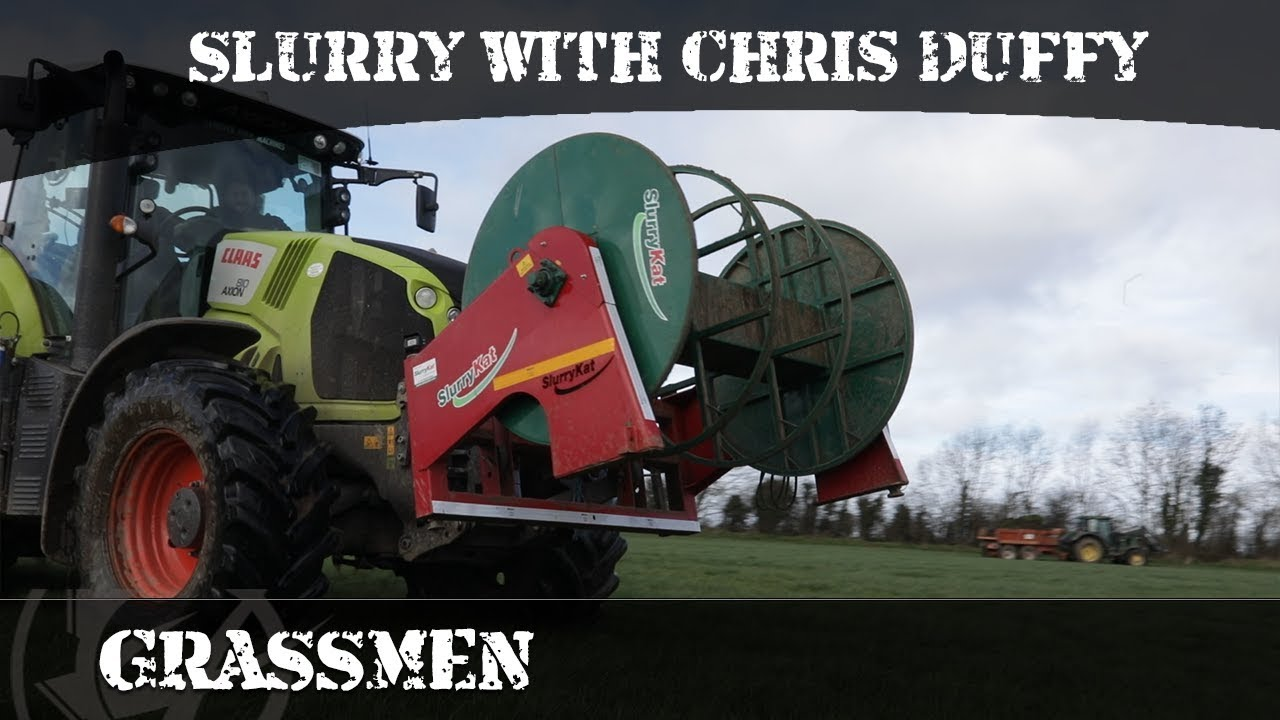 First slurry video of the year ... Donkey meets up with Christopher Duffy
