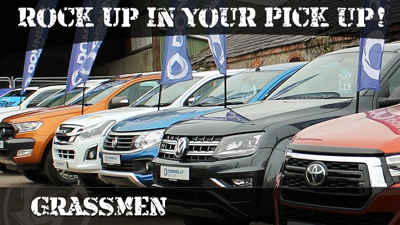 Rock Up In Your Pick Up!