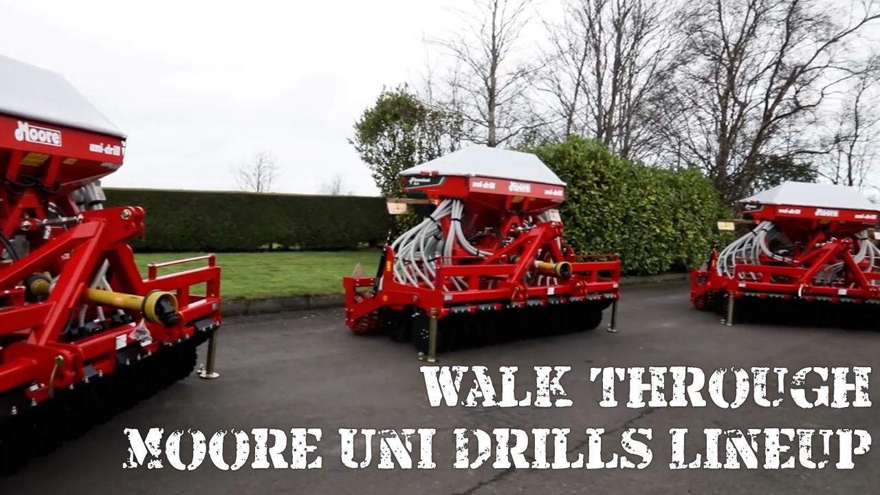 Walk through Moore Uni Drills lineup