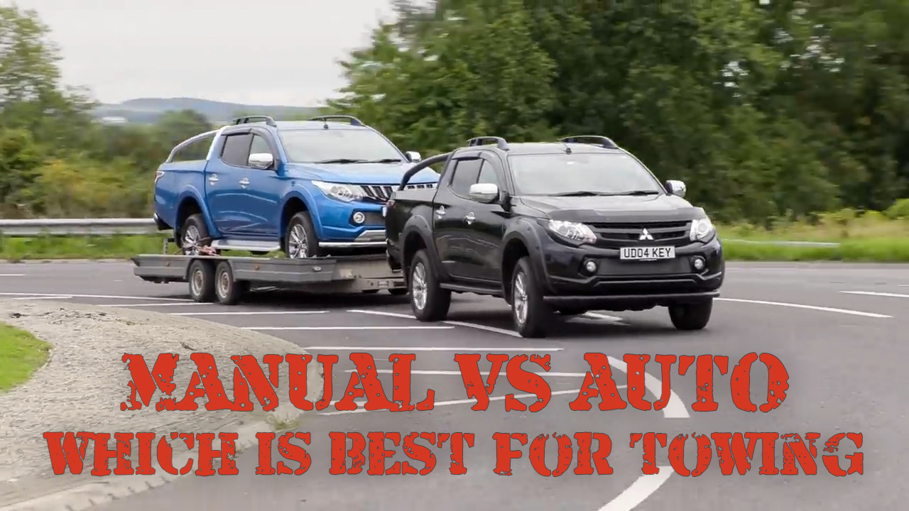 AUTO vs MANUAL - Which is best for towing!?