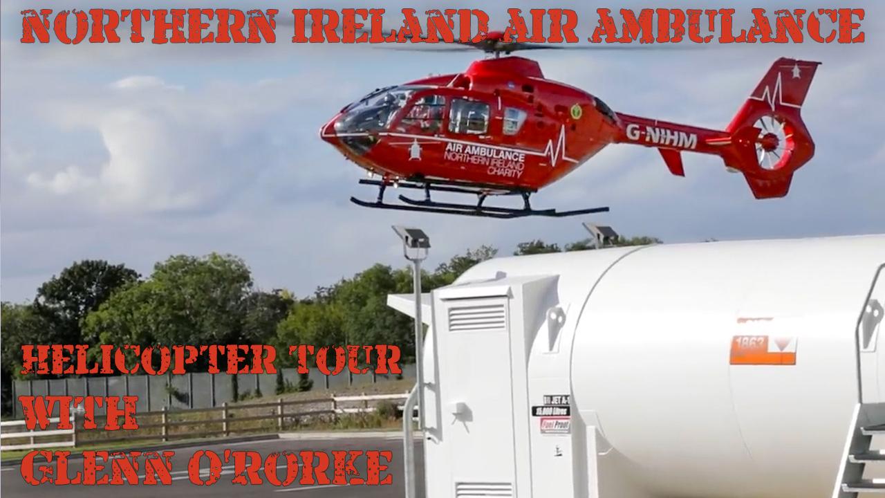 NIAA - Glenn O'Rorke walks us around the NIAA Helicopter
