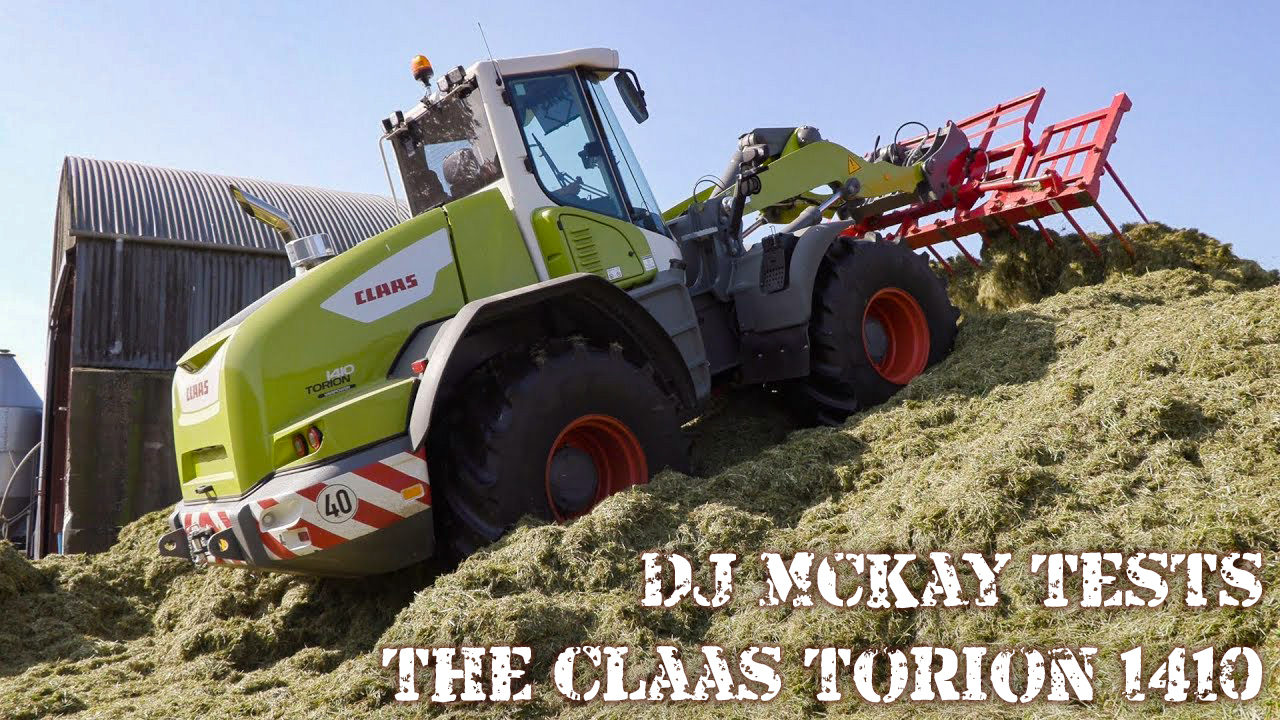 DJ McKay Tests the Claas Torion 1410