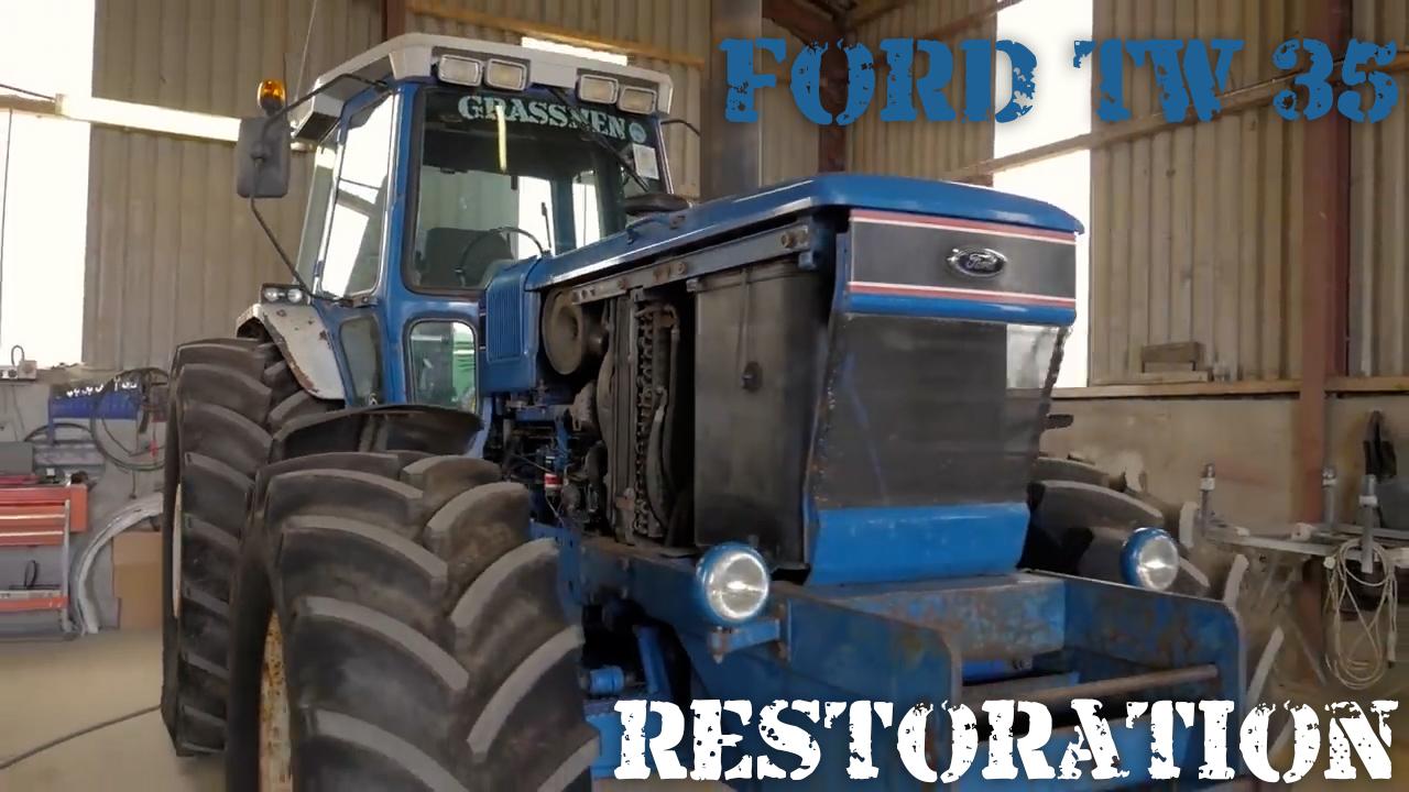 Ford TW-35 Restoration