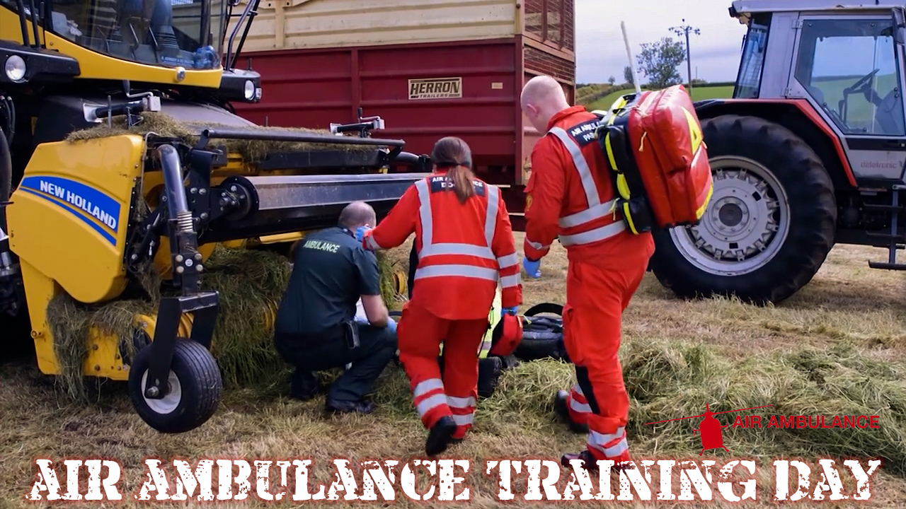 Air Ambulance NI Training Day