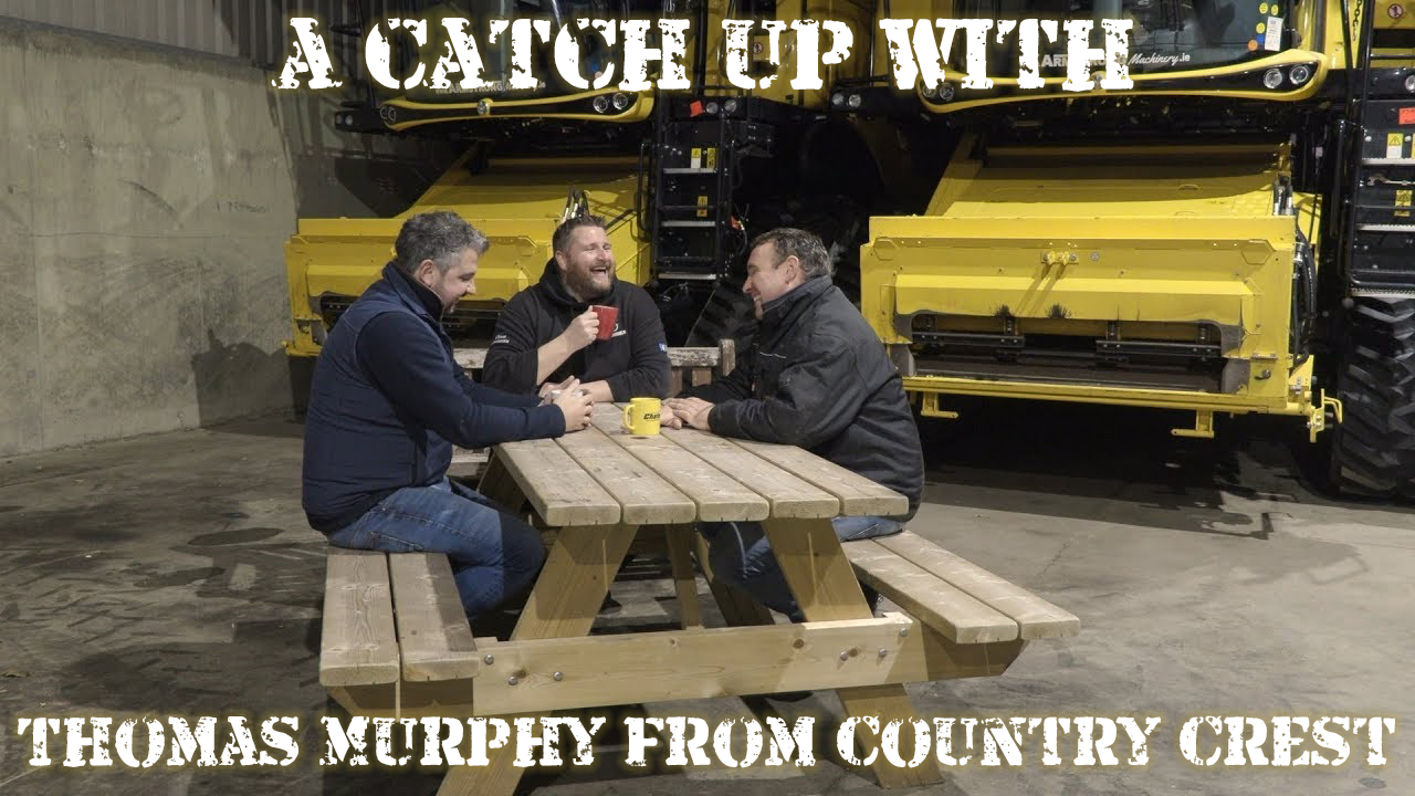 Donkey and Gazza have a cup of tea and a chat with Thomas Murphy from Country Crest