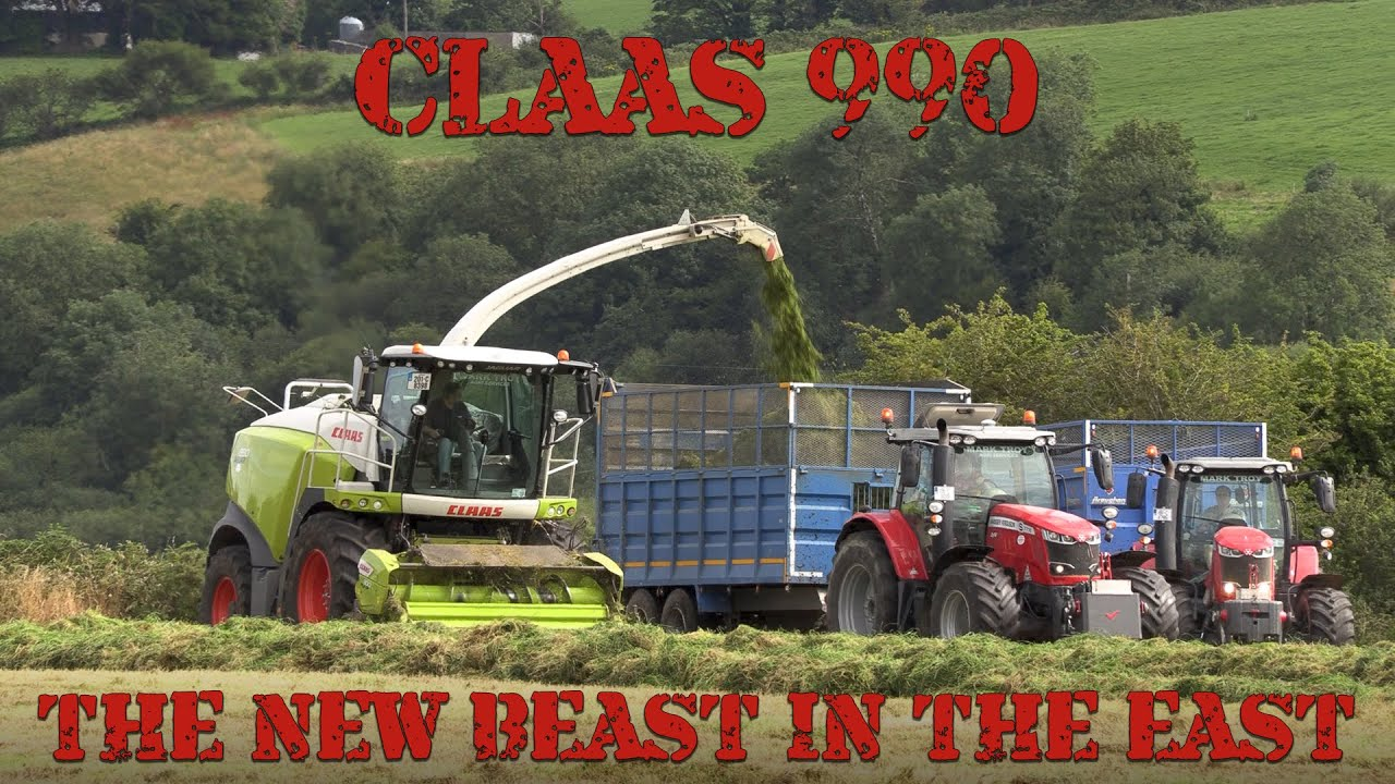 Catching up with Mark Troy and his new Claas 990